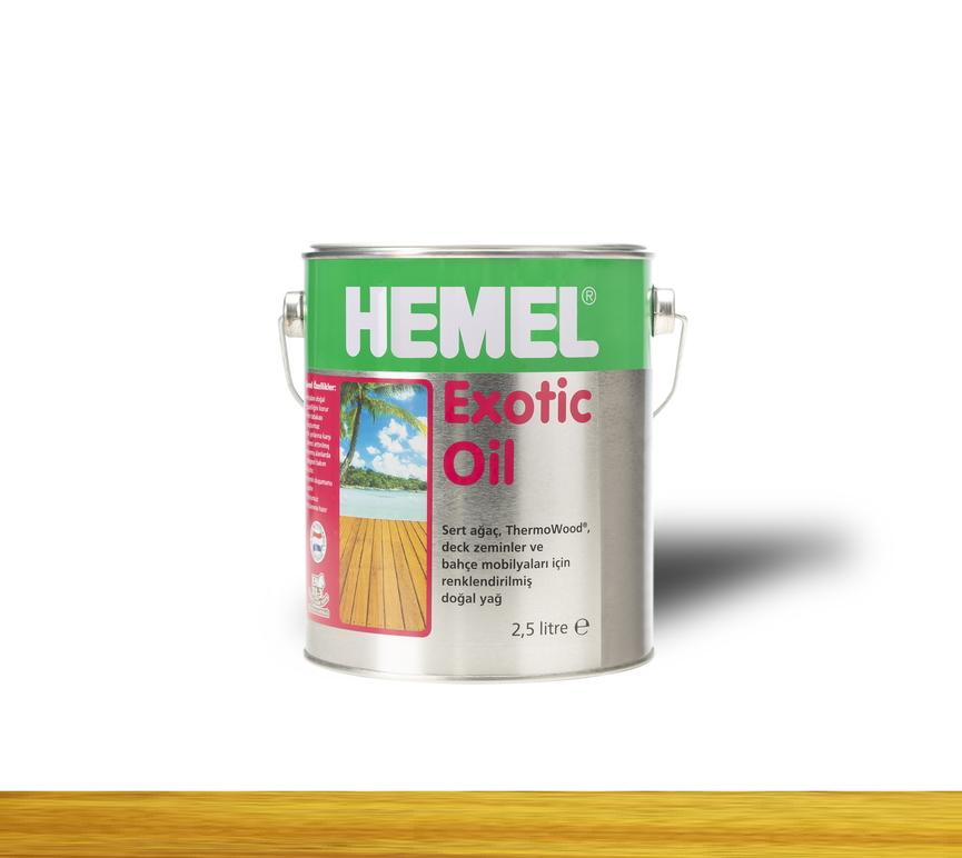 Hemel Exotic Oil Mustard - Renkli Tik Yağı