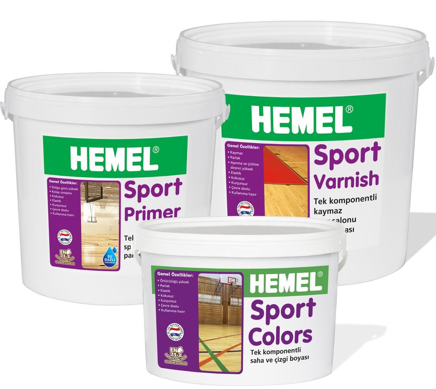 HEMEL Spor Salonu Cila Sistemi