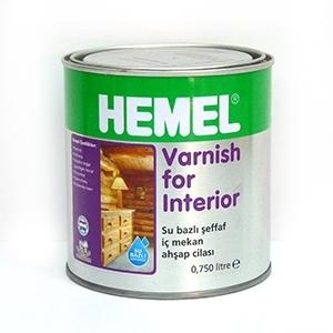 Hemel Varnish For Interior - İç Mekan Son Kat Cila/Vernik