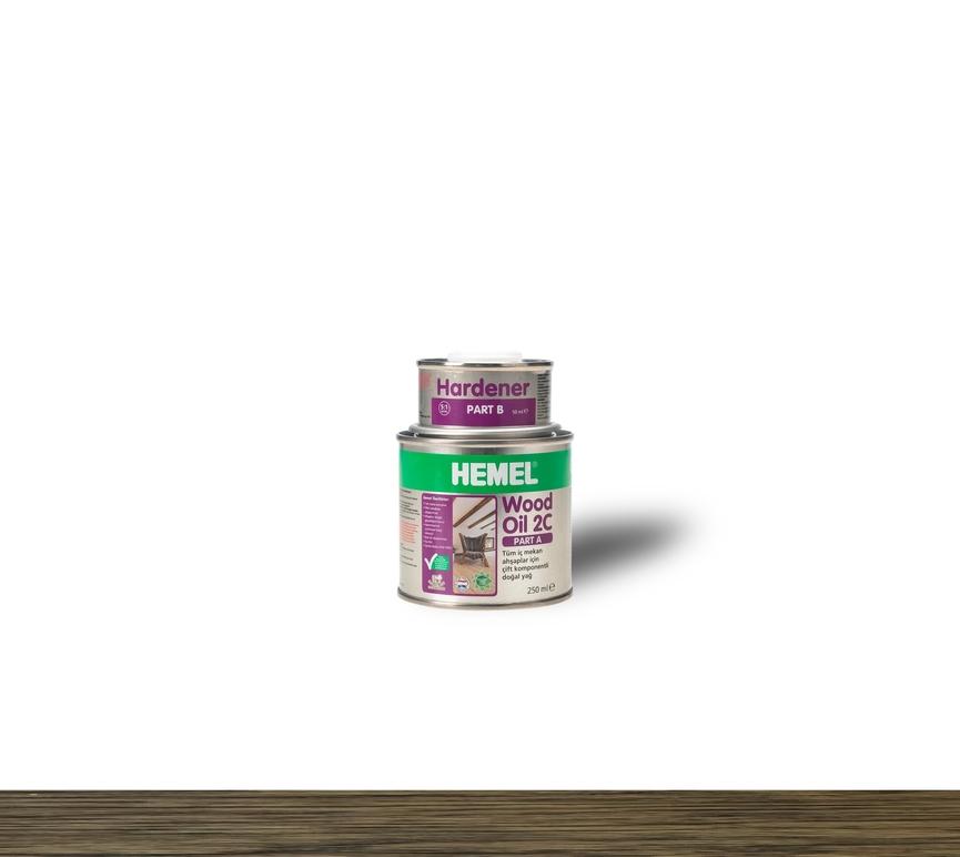 Hemel Wood Oil Castle Brown - Renkli Parke & Mobilya Yağı