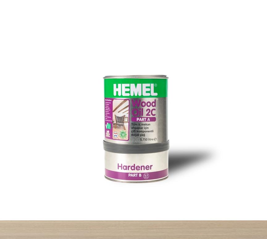 Hemel Wood Oil Chalk White - Renkli Parke & Mobilya Yağı