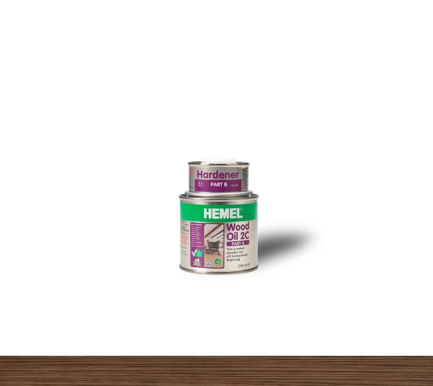 Hemel Wood Oil 2C Chocolate - Renkli Parke & Mobilya Yağı
