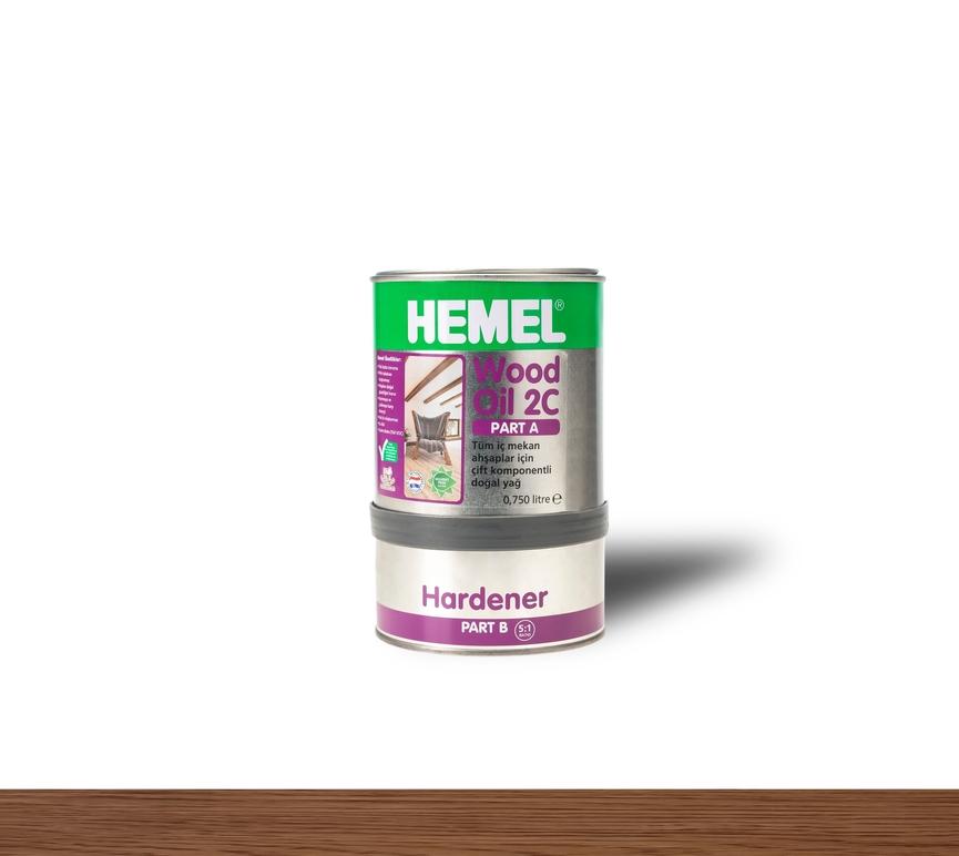 Hemel Wood Oil English Color - Renkli Parke & Mobilya Yağı
