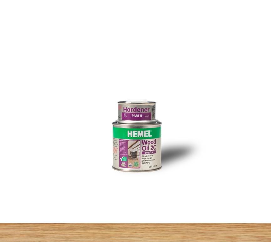 Hemel Wood Oil 2C Natural - Renkli Parke & Mobilya Yağı