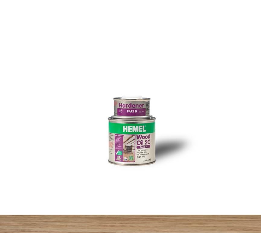 Hemel Wood Oil 2C Clear - Şeffaf Parke & Mobilya Yağı