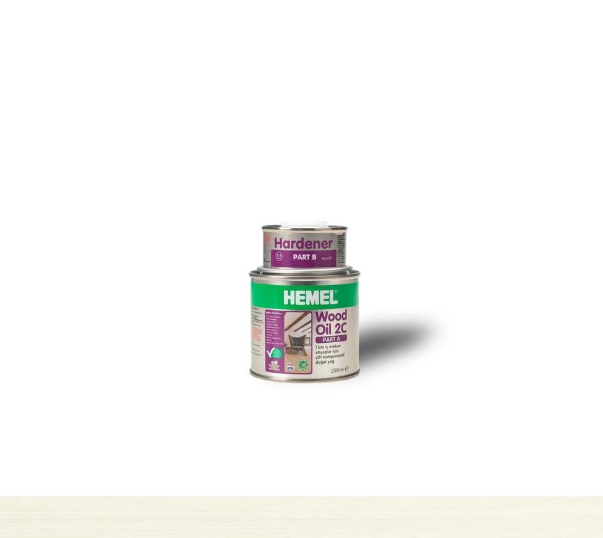 Hemel Wood Oil Super White - Renkli Parke & Mobilya Yağı