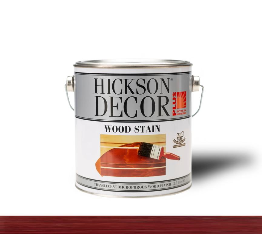 Hickson Decor Ultra Wood Stain Rosewood - Renkli Ahşap Vernik