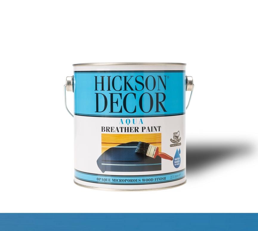Hickson Decor Aqua Breather Paint Deep Sky Blue - Ahşap Boyası