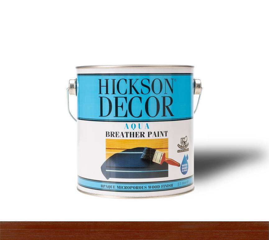 Hickson Decor Aqua Breather Paint Sienna (Aşı Rengi) - Ahşap Boyası