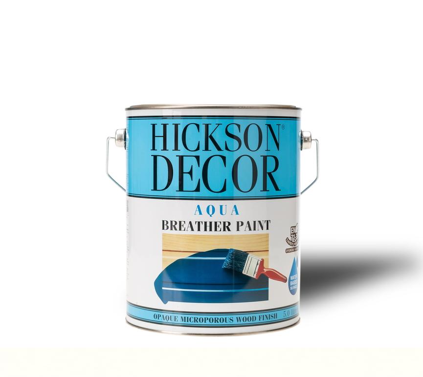 Hickson Decor Aqua Breather Paint Polar White Semi Gloss