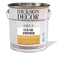 - Hickson Decor Aqua Clear Primer - Şeffaf Ahşap Astarı