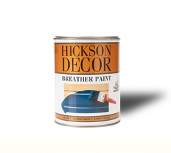 - Hickson Decor Breather Paint Polar White Semi Gloss