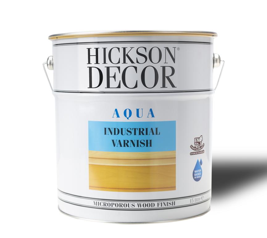 Hickson Decor Aqua Industrial Top-Coat Varnish VA1030