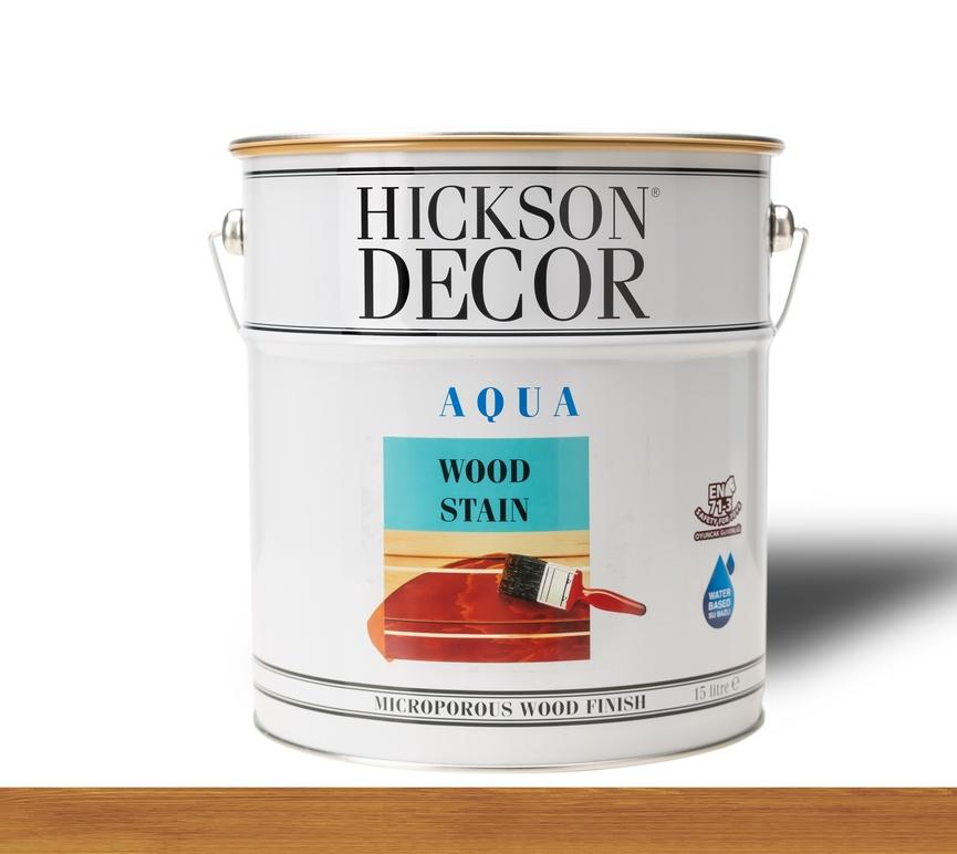 Hickson Decor Ultra Aqua Wood Stain Afrormosia - Renkli Ahşap Vernik