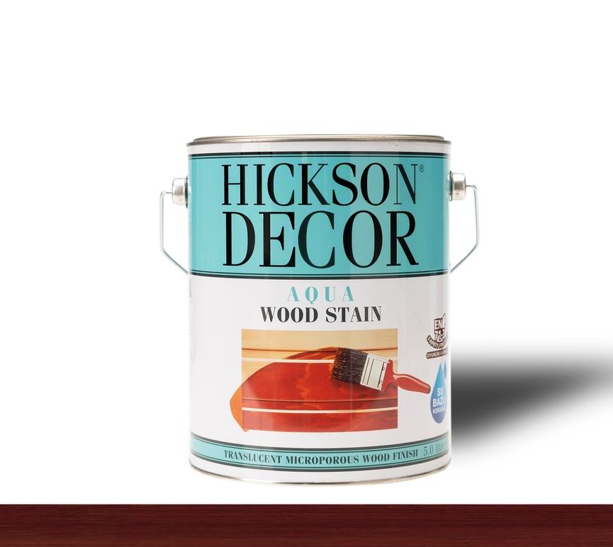 Hickson Decor Ultra Aqua Wood Stain Akajou - Renkli Ahşap Vernik