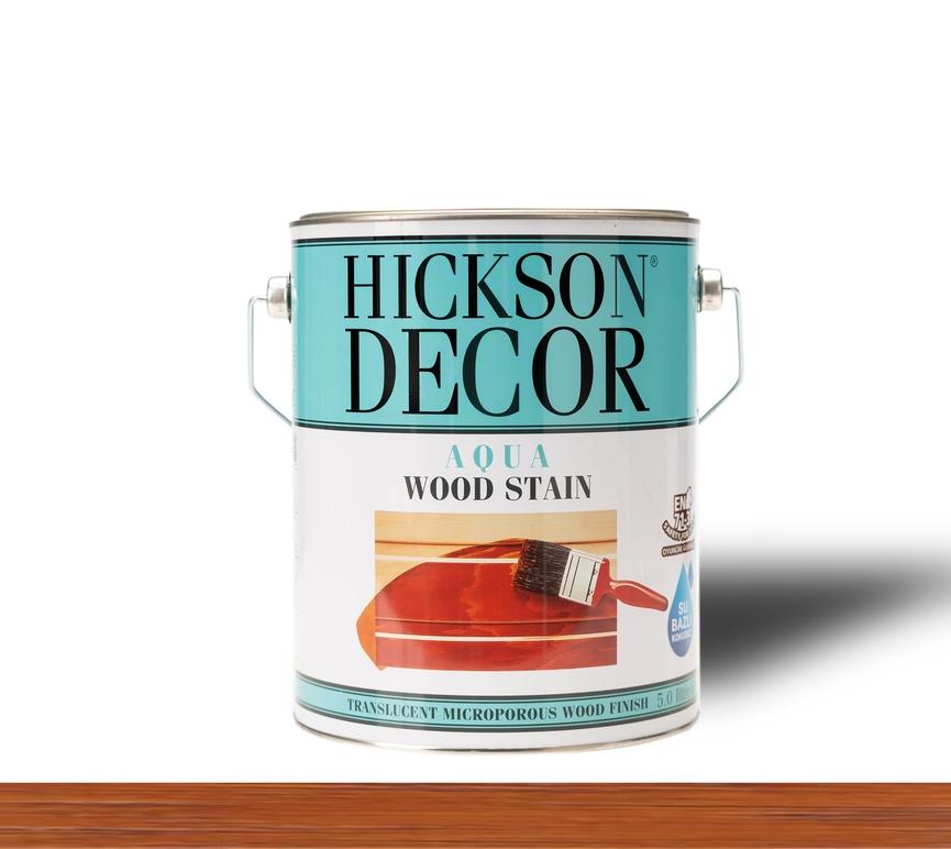 Hickson Decor Ultra Aqua Wood Stain Chestnut - Renkli Ahşap Vernik