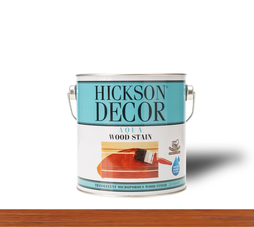 Hickson Decor Ultra Aqua Wood Stain Chestnut