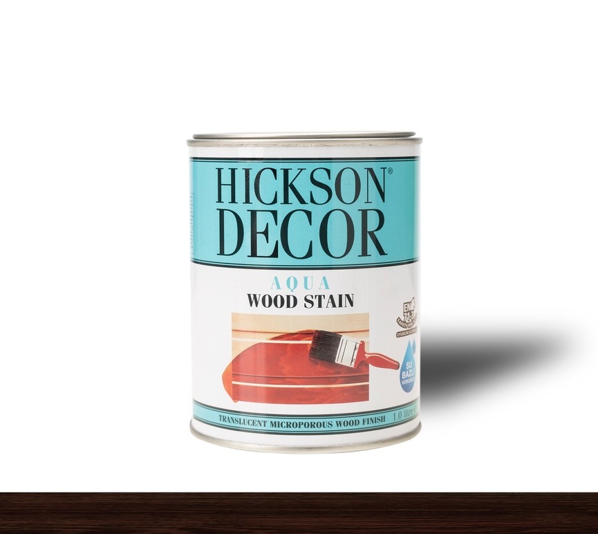 Hickson Decor Ultra Aqua Wood Stain Dark - Renkli Ahşap Vernik