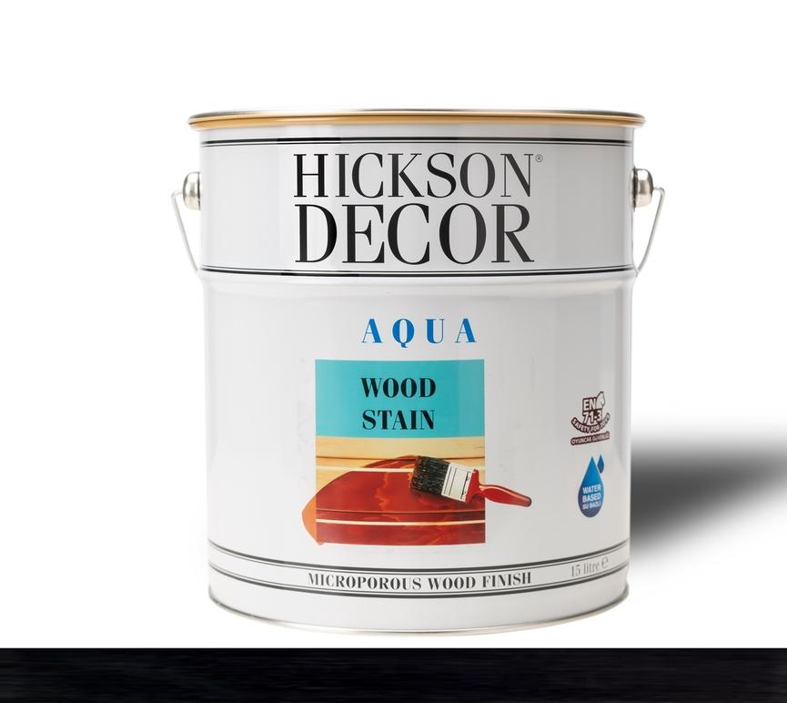 Hickson Decor Ultra Aqua Wood Stain Ebon