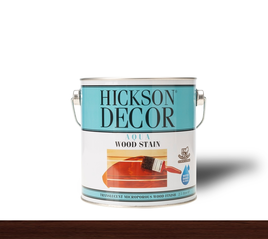 Hickson Decor Ultra Aqua Wood Stain Mahog