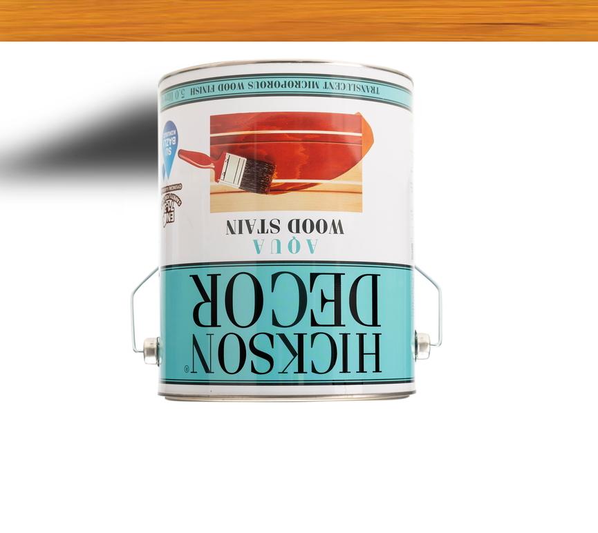 Hickson Decor Ultra Aqua Wood Stain Natural - Renkli Ahşap Vernik