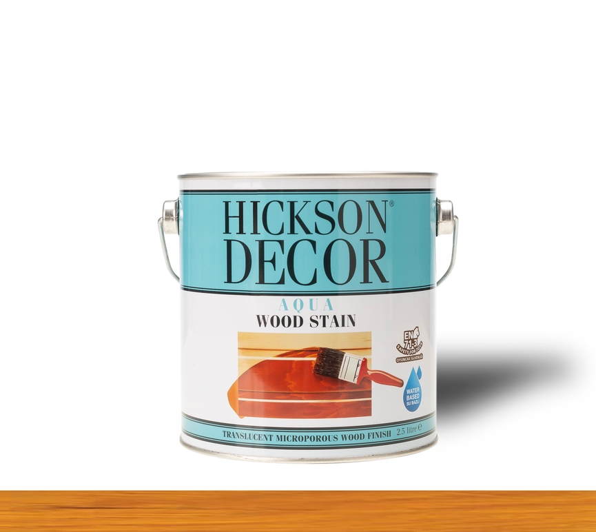 Hickson Decor Ultra Aqua Wood Stain Natural