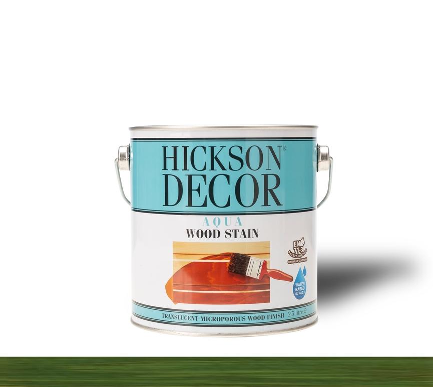 Hickson Decor Ultra Aqua Wood Stain Olive - Renkli Ahşap Vernik