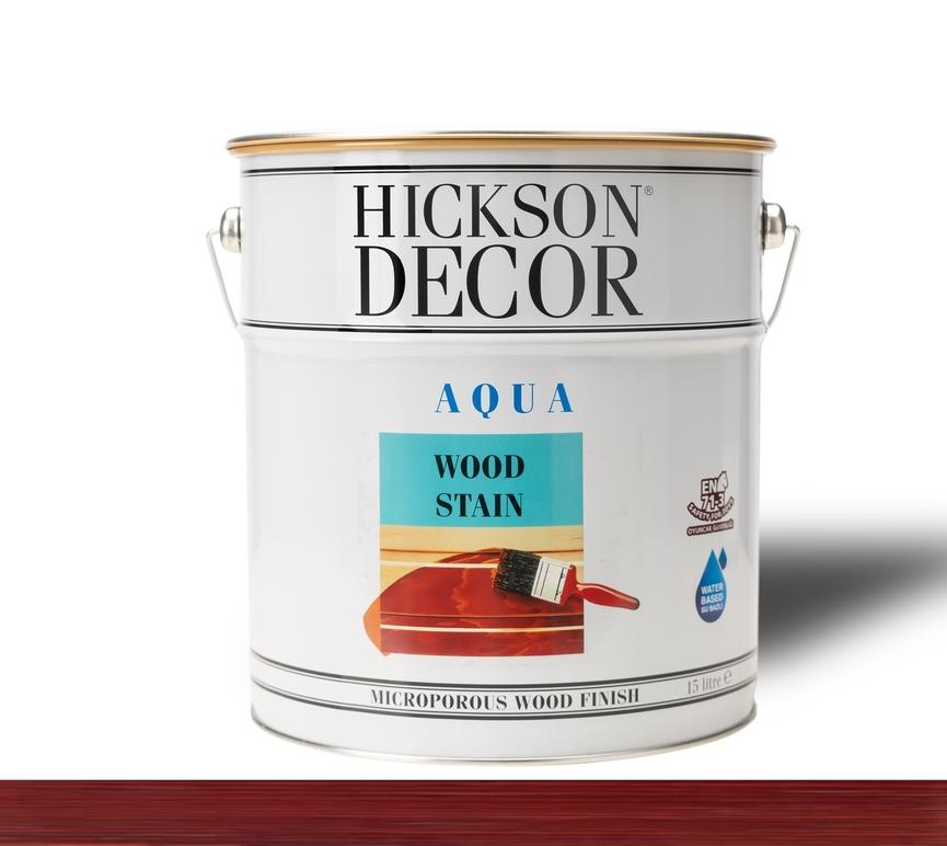 Hickson Decor Ultra Aqua Wood Stain Rosewood - Renkli Ahşap Vernik