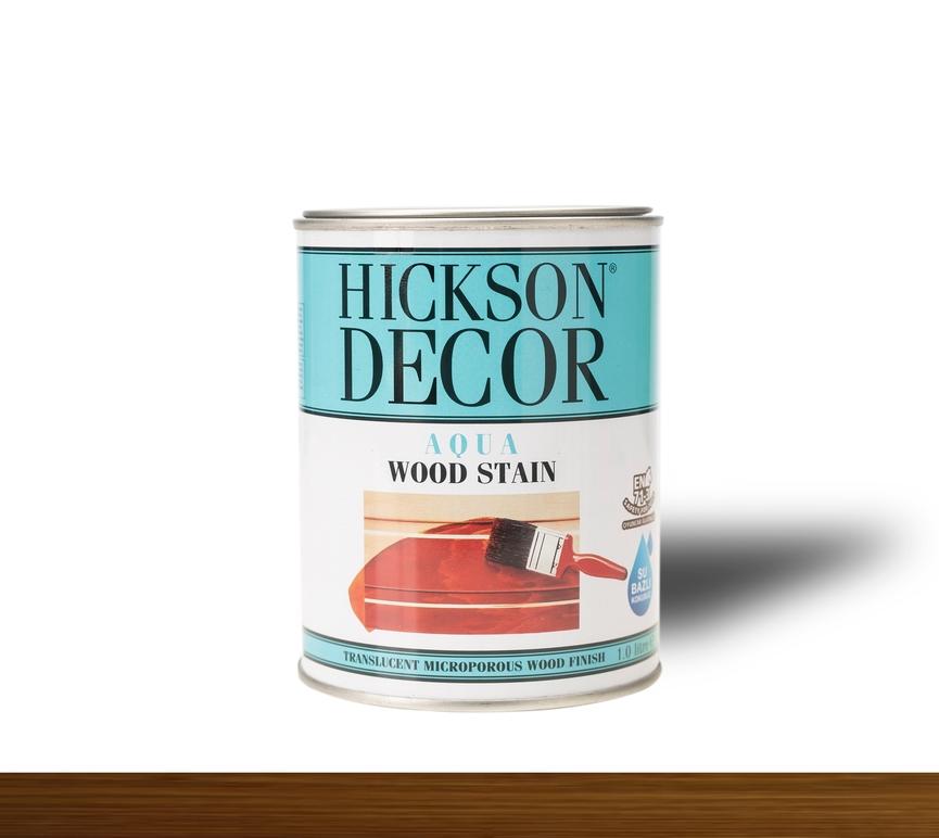 Hickson Decor Ultra Aqua Wood Stain Tanatone Brown - Renkli Ahşap Vernik