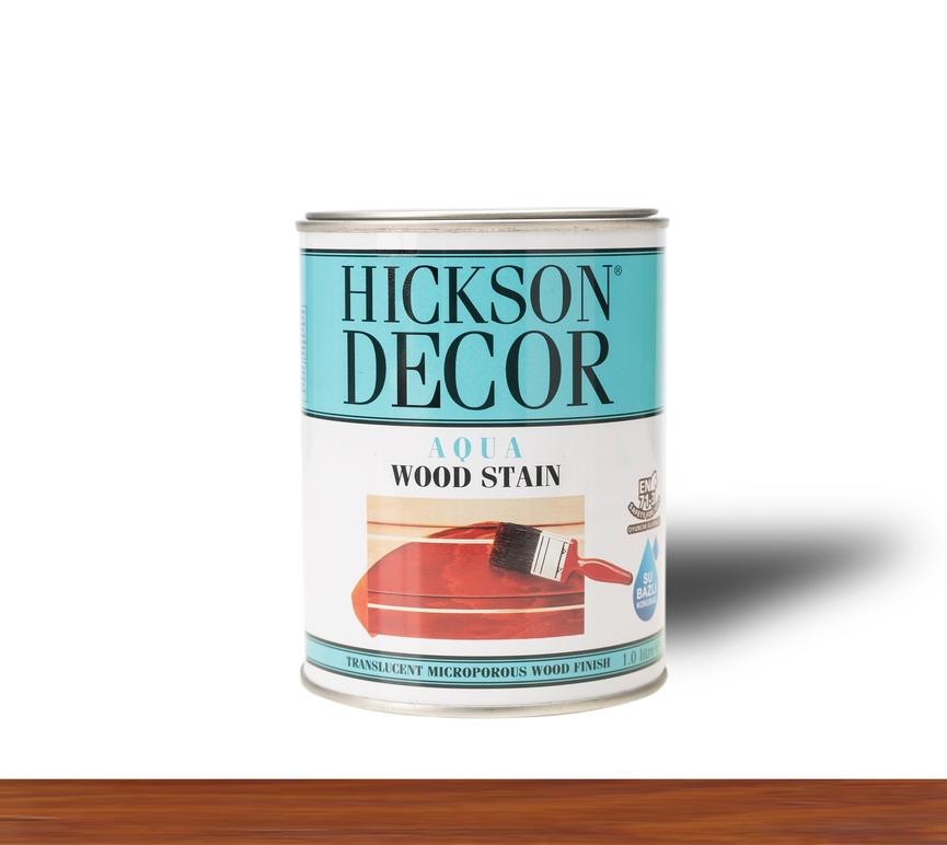 Hickson Decor Ultra Aqua Wood Stain Teak - Renkli Ahşap Vernik
