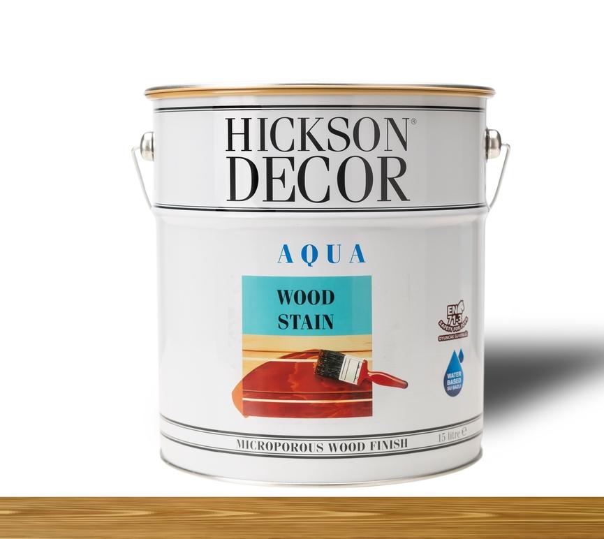 Hickson Decor Ultra Aqua Wood Stain Walnut - Renkli Ahşap Vernik