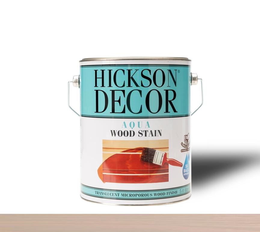 Hickson Decor Ultra Aqua Wood Stain Warm Grey - Renkli Ahşap Vernik