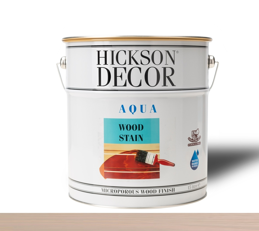 Hickson Decor Ultra Aqua Wood Stain Warm Grey