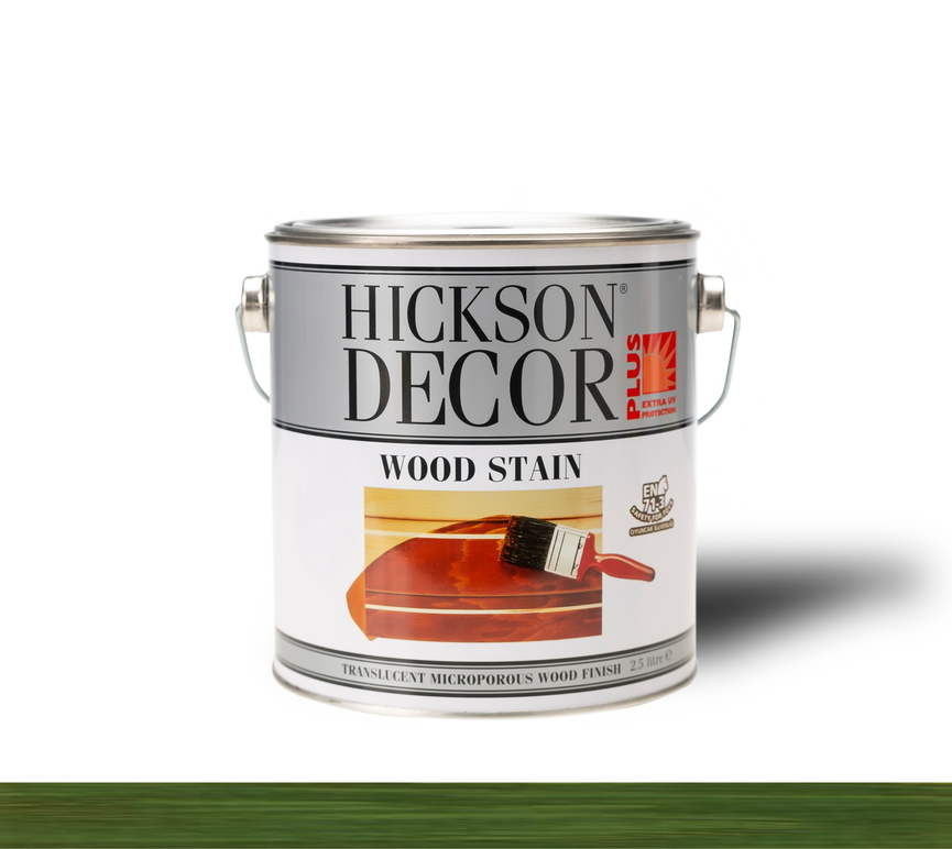 Hickson Decor Ultra Wood Stain Olive - Renkli Ahşap Vernik