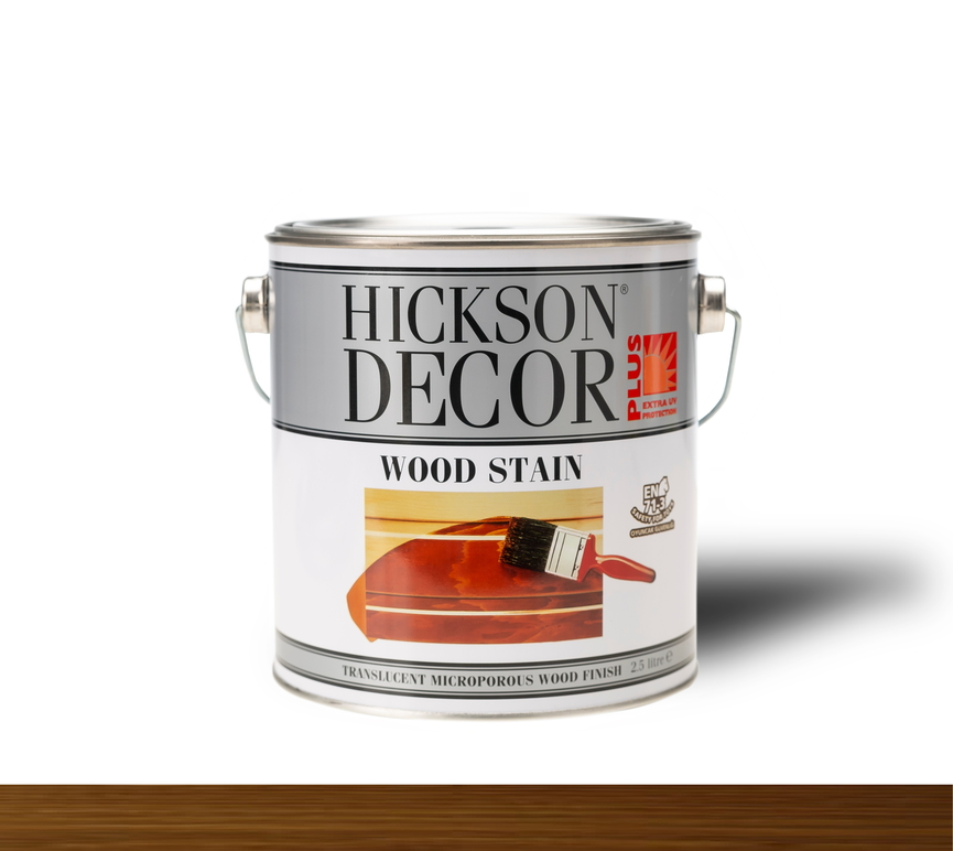 Hickson Decor Ultra Wood Stain Tanatone Brown - Renkli Ahşap Vernik