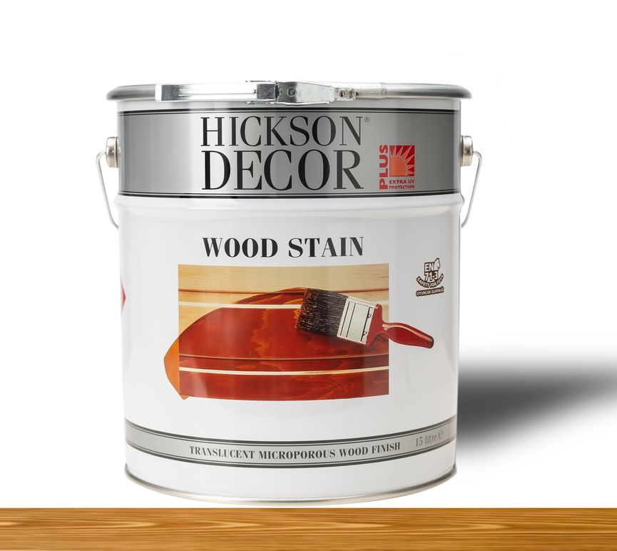 Hickson Decor Ultra Wood Stain Walnut - Renkli Ahşap Vernik
