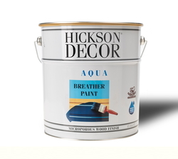 Hickson Decor Aqua Breather Paint Polar White Parlak - Ahşap Boyası