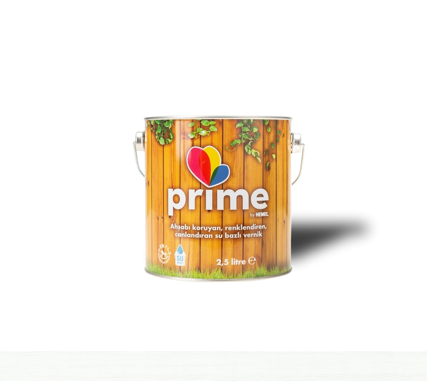 Prime Su Bazlı Ahşap Boya - Beyaz
