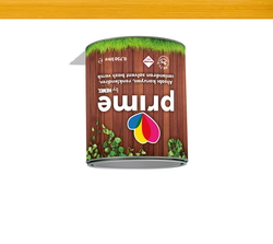 - Prime Solvent Wood Stain - Natural