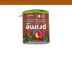 - Prime Solvent Wood Stain - Teak