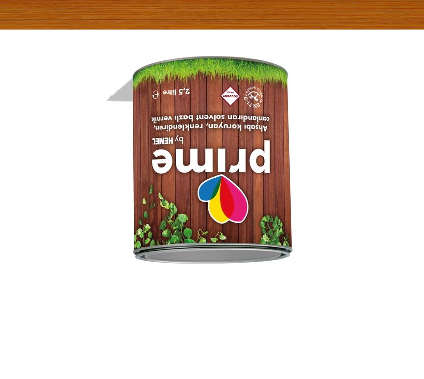 Prime Solvent Wood Stain - Teak