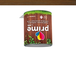 - Prime Solvent Wood Stain - Walnut