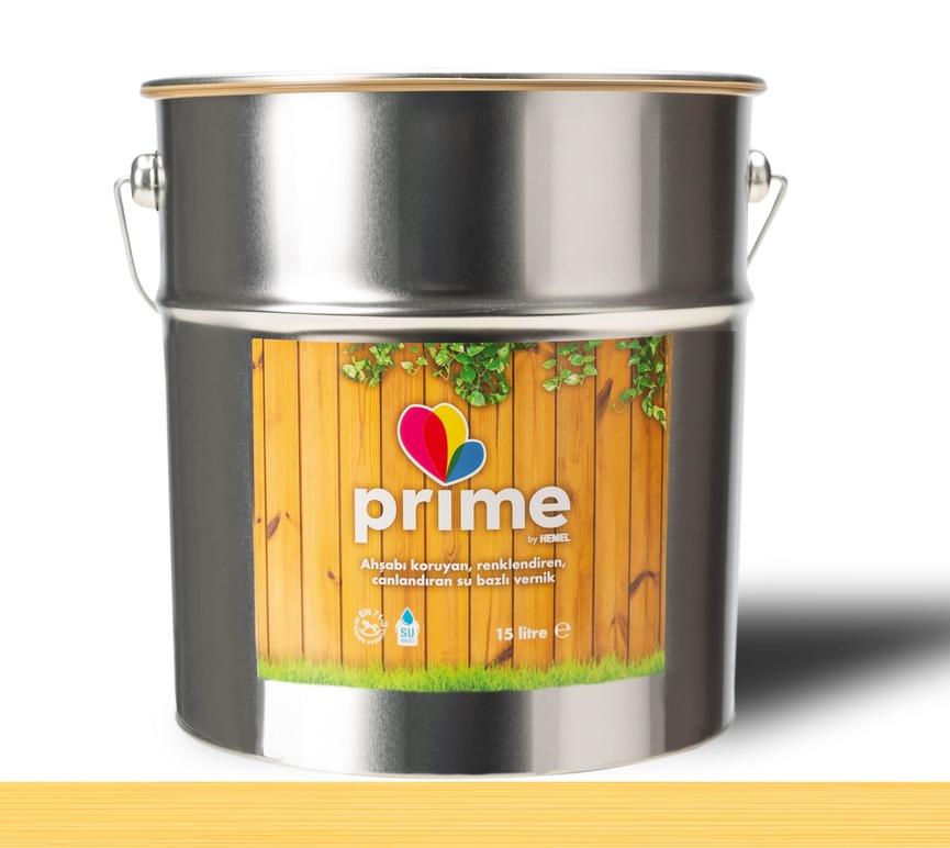 Prime Su Bazlı Ahşap Vernik - Şeffaf